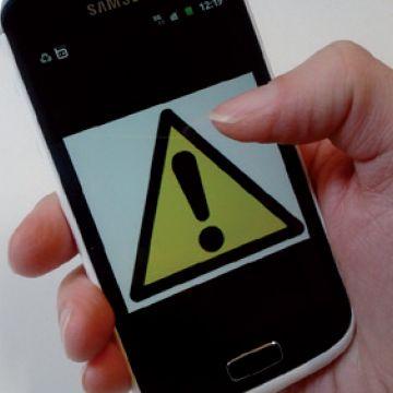 systéme d'alerte de la population par sms